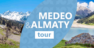Almaty City Tour and Medeo Gorge Tour