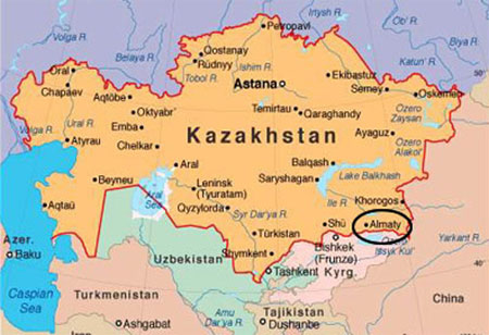 General Information about Kazakhstan