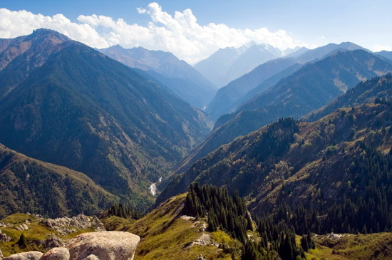 The mountains of kazakhstan the mountains of kazakhstan are a favorite