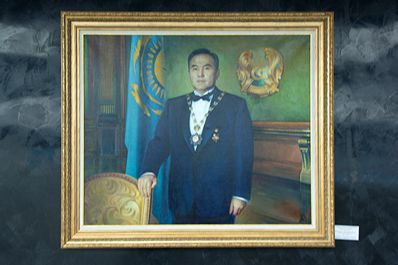 The Museum of the First President of Kazakhstan in Nur-Sultan, Kazakhstan