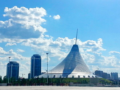 Nur-Sultan (Astana) City Tour (half-day)