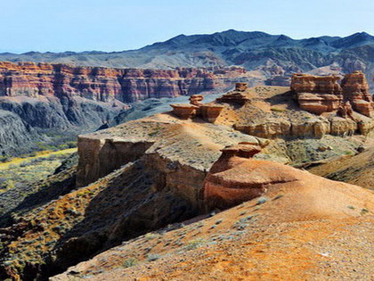 Kazakhstan Tour 1: Altyn-Emel Reserve and Charyn Canyon