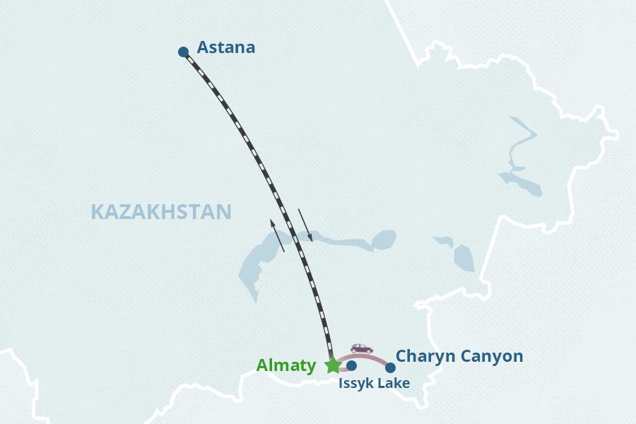 Kazakhstan Tour 2 Highlights of Kazakhstan