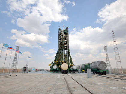 Baikonur Spaceship Roll-out Extension