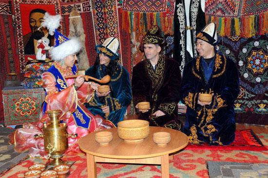 Казахские традиции