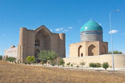 Мемориальный комплекс Ходжа Ахмеда Яссави