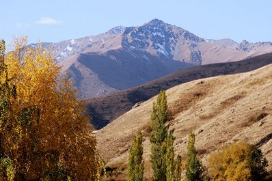 Best time to visit Kyrgyzstan. Autumn