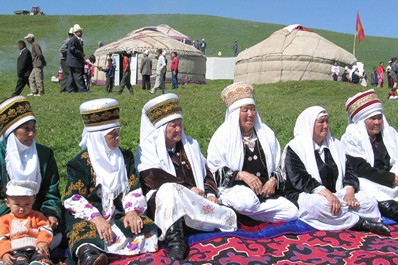 Best time to visit Kyrgyzstan. Summer