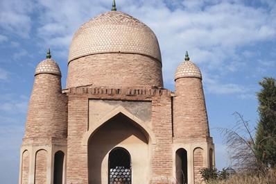 Medieval mosque, Bishkek, Kyrgyzstan
