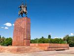 Памятник Манасу, Бишкек