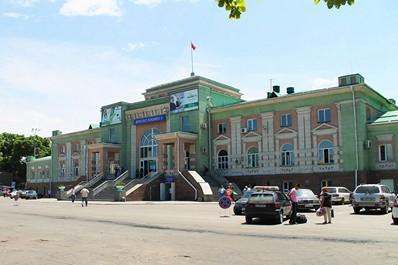 Вокзал в Бишкеке