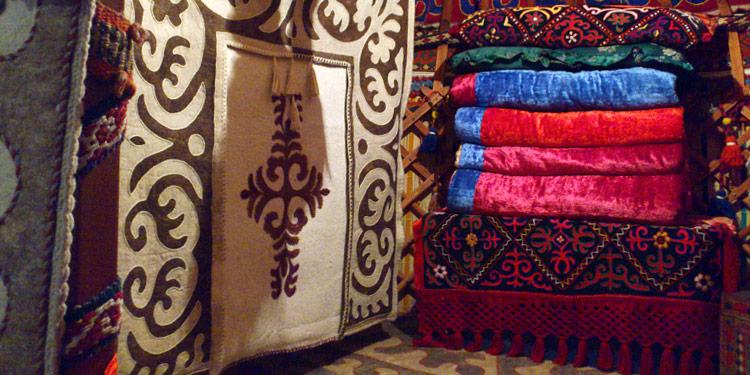 Kyrgyz Traditional Crafts Carpets