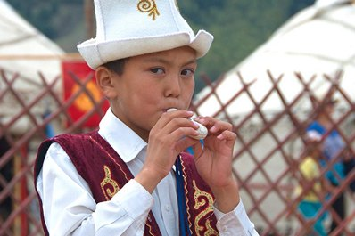 Kyrgyz traditional clothing