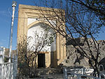 Mosque on Sulayman-Too mount, Osh