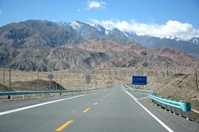 Перевал Иркештам, Киргизия
