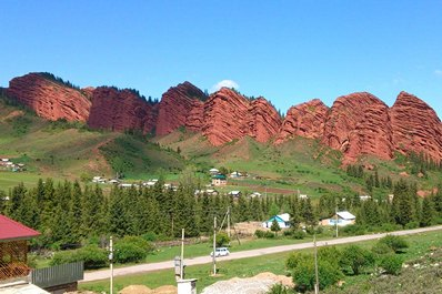 Nature of Kyrgyzstan