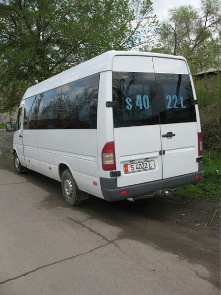 Minibus mercedes sprinter firenze for Mercedes benz sprinter for rent