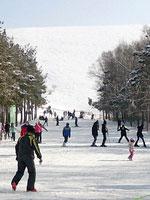 Ski-resort Orlovka, Kyrgyzstan