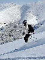 Ski-resort Suusamyr, Kyrgyzstan