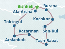 Cultural Tour 5: Ancient Sites of Kyrgyzstan
