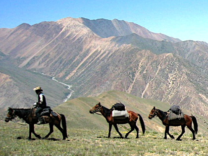 Horse Riding Tour Around Lake Issyk-Kul