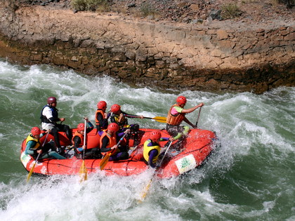 Rafting tour in Kyrgyzstan: adventure tour to the rivers of Kyrgyzstan