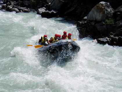 Rafting tours in Kyrgyzstan. Romance of the mountainous country