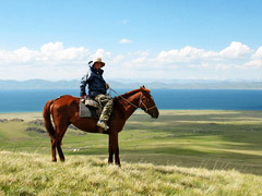 Kyrgyzstan small group scheduled horse riding tour (6 days)
