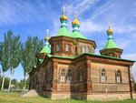 Wooden Russian-Orthodox Church