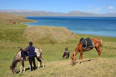 The traditions of the nomadic Kyrgyz