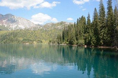 Озеро Сары-Челек, Кыргызстан