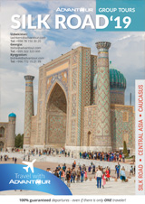 Advantour Silk Road Group Tours Brochure 2019