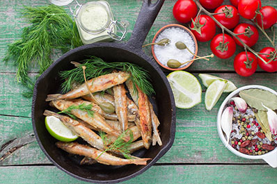 Fried Smelt, Russian Cuisine