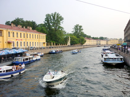 Boat Trip along St. Petersburg Rivers and Canals 1