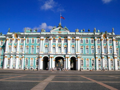City Tour by Car in St Petersburg: State Hermitage (additional excursion)