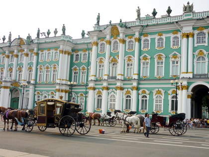 One-day Tour in St Petersburg: City Tour by Car