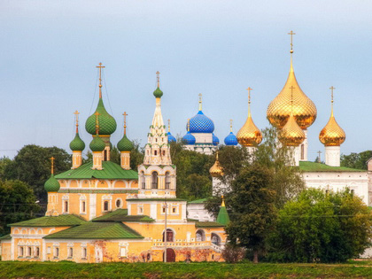 Golden Ring Travel from Moscow (incl. Kostroma and Plyos)