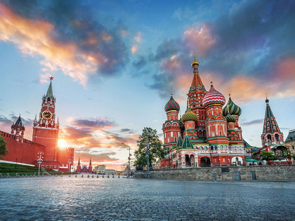 Russia's Two Capitals: Moscow and St. Petersburg
