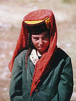 Tajik traditional clothes