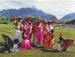 Таджикские танцы - Танец орла