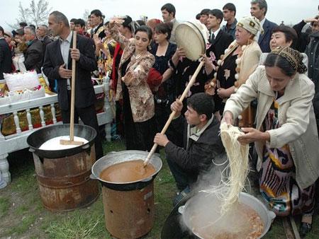 Национальные праздники в Таджикистане 21 марта Навруз