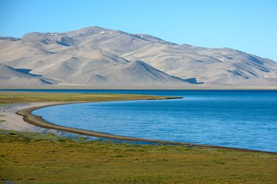 Karakul Lake, Pamir Highway