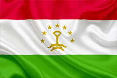 National flag of Tajikistan