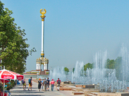 Dushanbe Layover Tour: one-day trip in capital of Tajikistan