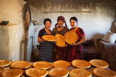 Non (Bread) Bakers, Uzbekistan, Central Asia