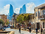 Old quarter in Baku, Azerbaijan