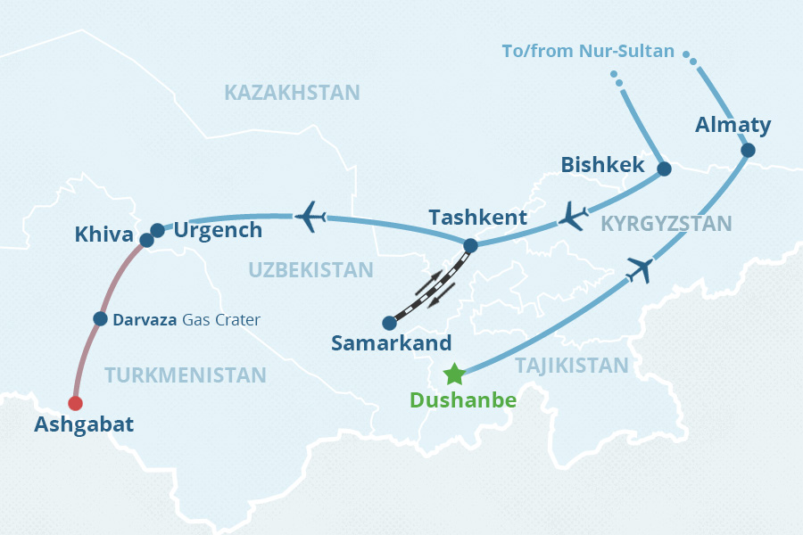 capital cities are a window into the political cultural and social life of a country the capitals of central asia tour is a great way to visit the