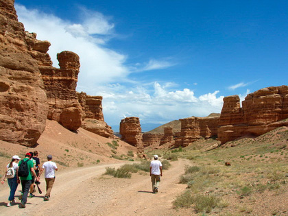 Charyn Canyon Pre-tour to Scheduled Central Asia / Silk Road Tour