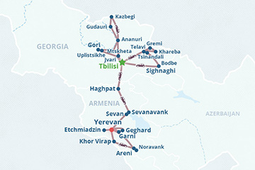 Georgia and Armenia Small Group Tour 2020-2021
