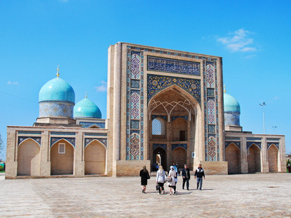 Small Group Tour in Central Asia with Scheduled Dates, 2017-2018